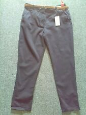 Bnwt River Island Black Chino / Trousers Size 10
