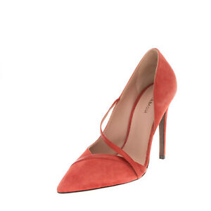 RRP €210 ALTIEBASSI Leather D'Orsay Shoes Size 40 UK 7 US 10 Heel Made in Italy