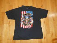 Vintage 80s Style 2010 Bravado GUNS N ROSES Graphic Rock Band T-Shirt Adult XL
