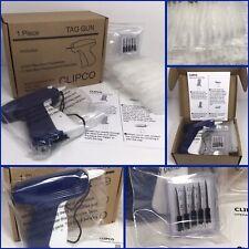 Clipco Blue Garment Clothing Price Label Tagging Tag Tagger Gun.