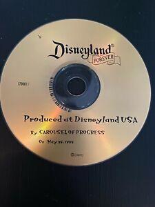 Disneyland Forever Carousel of Progress CD Tomorrowland Music Rare Plays 1998