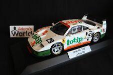 Bburago transkit Ferrari F40 GTE 1:18 #29 24h Le Mans 1994 + figurine (PJBB)