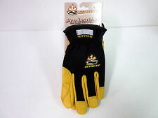 New Setwear Pro Leather Tan One Touch Glove Large Size Gloves L
