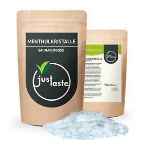 100 g Mentholkristalle | Saunaaufguss | Aufguss | Sauna | Menthol