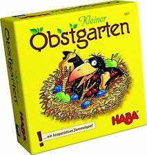 Kinder Spielzeug NEU Haba Kleiner Obstgarten Mädchen und Jungen DE Sp