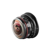 Meike3.5mm f2.8 Wide Angle Manul Focus Fisheye Lens for M4/3 MFT mount camera