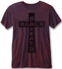 BLACK SABBATH Vintage Cross BURNOUT T-SHIRT OFFICIAL MERCHANDISE