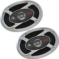 "Crunch Car Audio P1-693 6""x9"" 3 Way Coaxial Speakers 1 Pair inc grilles"