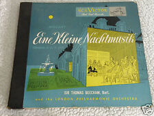 "MOZART EINE KLEINE NACHTMUSIK 12"" RECORDS SIR THOMAS BEECHAM LONDON PHILHARMONIC"