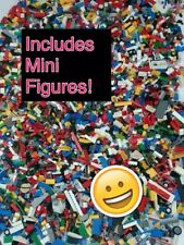 Genuine Lego 1kg-1000g Mixed Bundle Of Lego Bricks Parts Pieces Bulk Job Lot Set