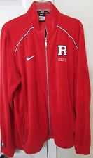 NCAA Rutgers Scarlett Knights Full Zip Basketball Warmup Jacket XXLT Nike Elite