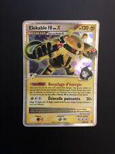 Carte Pokemon Elekable Niv. X 144/147 Vainqueurs Supremes Platine ULTRA RARE FR