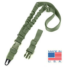 CONDOR ADDER Double Bungee One Point Rifle Sling US1022-001 OLIVE OD GREEN USA