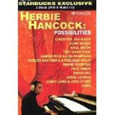 HERBIE HANCOCK: Possibilities (DVD, 2008) With bonus CD / New / Free Shipping