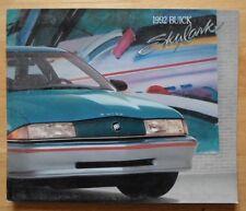BUICK Skylark orig 1992 USA Market sales brochure