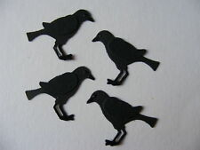 Raven Crow Rook Witch Birds Bird Watching Woods Walking Trees Die Cuts