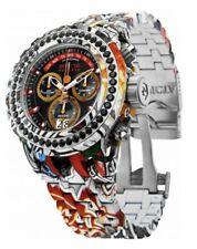 Invicta Reserve Subaqua Specialty Graffiti Black Spinel 4.14ctw 52mm Watch