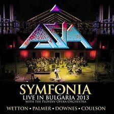 ASIA - SYMFONIA-LIVE IN BULGARIA 2013 (2CD+DVD DIGIPAK)  2 CD+DVD NEW+