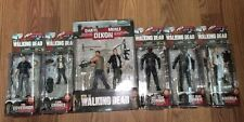 THE WALKING DEAD AMC SERIES 4 ACTION FIGURES WITH DARRYL/MERLE 2 PACK