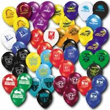 Official NRL All Teams Assorted Birthday Party Latex Helium Balloons (25 Pack)
