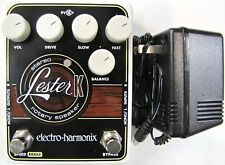 Used Electro-Harmonix EHX Lester K Stereo Rotary Speaker Guitar Effects Pedal!