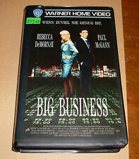VHS - Big Business - Thriller 1990 - Videofilm - Videokassette