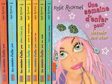 UNE SEMAINE D'ENFER POUR ... tomes 2 à 9 Rosie Rushton livre jeunesse roman