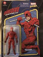 """Daredevil  ?  Marvel Legends RETRO  New  3.75""""   UNPUNCHED Card    Kenner"""