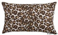 """Leopard 20""""x12"""" Cotton Pillow Cover"""