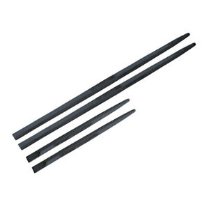 4PCS Carbon Fiber Black Door Body Side Molding Universal Accessories Cover Trim
