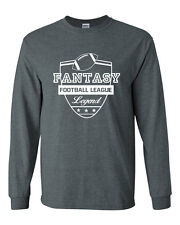 341 Fantasy Football Legend Long Sleeve shirt commissioner draft party sports