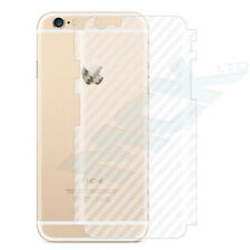 CLEAR Thin Carbon Fiber Rear Back Film Protector Sticker Vinyl Skin iPhone 7 8