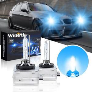 2pcs D1S Bulbs Xenon Headlight Headlamp For BMW E90 E92 E93 328i 335i 323i 8000K