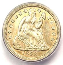 1852-O Seated Liberty Dime 10C Coin - Certified ICG AU55 - $1,020 Value!