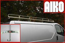Vauxhall Vivaro new model 2014 onwards SWB 4 Bar Modular Roof Rack + clamps