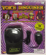 Forum Novelties Voice Disguiser with Microphone Costume Accessory