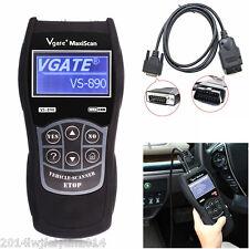 VS890 OBD2 II Car Fault Code Reader Auto Scanner Diagnostic Tool Multi-languages