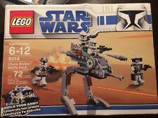 LEGO Star Wars Clone Walker Battle Pack 8014 New Sealed
