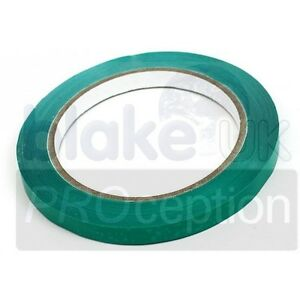 9mm Green Bag Sealing Tape (Priced per 10 items)