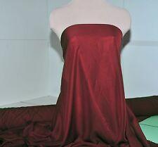 "Chiffon Sheer Fabric Garnet Red 60"" By The Yard Bridesmaid Dress Home Decor"