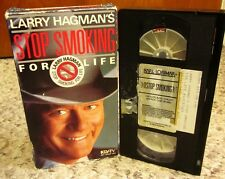 STOP SMOKING FOR LIFE Larry Hagman VHS seven-day program 1987 modification