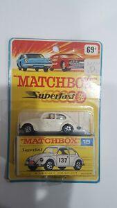 Vintage Lesney Matchbox Volkswagen No.15   Factory Error