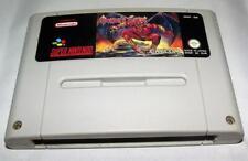 Demon's Crest Super Nintendo SNES PAL