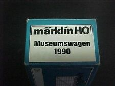 Marklin HO -  Museum Car from 1990 - Gondola with heavy load - runs smoothly