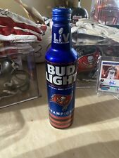 Tampa Bay Buccaneers Super Bowl Champions Bud Light Beer Bottle -Not In Stores🔥