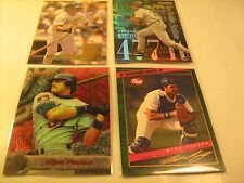 (Lot of 4) 1990's Cards MIKE PIAZZA Topps DONRUSS Post 81 5 1 2 [c3a11]