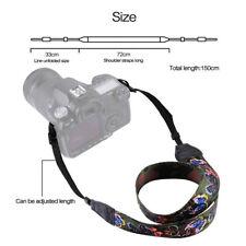 Retro Ethnic Style Print Shoulder Neck Strap Camera Strap for Pentax Canon CB