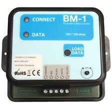 NASA Clipper BM1 BT Bluetooth instrumento de monitor de batería 12 V
