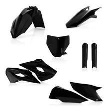 Acerbis Full Plastics Kit Black Husqvarna TC 250/TC 125/FC 250/FC 350/FC 450