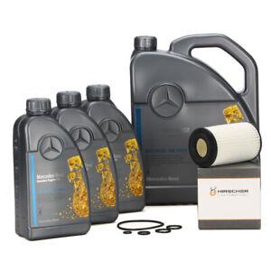 ORIGINAL Mercedes-Benz Motoröl 5W40 MB 229.5 8 L + HIRSCHER Ölfilter 0001802609